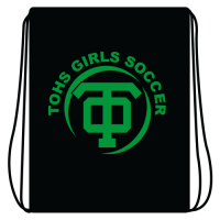 TOHS Girl's Soccer Cinch Bag