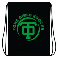 TOHS Girl's Soccer Cinch Bag